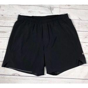 Lululemon mens black All terrain Large Shorts